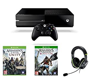 Console Xbox One + Assassin's Creed : Unity + Turtle Beach XO4 Headset [import anglais]