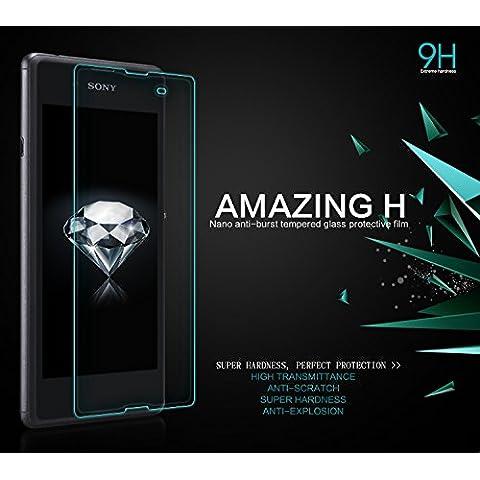 TPC© Displayschutz aus gehärtetem Glas Original Nillkin Amazing H 9H, für Sony Xperia E3, Retail