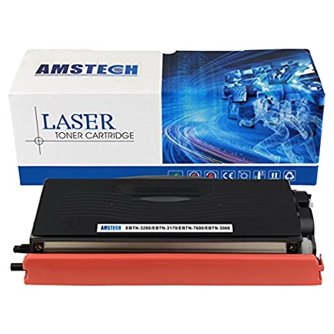 Amstech Compatible Black Toner cartridge Replacement for TN-3280 TN-3170 Standard Yield (7000 Pages) for Printers Brother HL-5240 5340DRT 5340D 5350DN 5370DW 5370DWT 5380DN 5140 5150D 5150DLT 5170DN 5130 5250DN 5250DNT 5280DW 1650 1670N 1850 1870N 5030 5040 5050 5070N, DCP-8020 8025D 8040 8045D 8085DN 8060 8065DN 8080DN 8380DN 8480DN 8890DW 8880DN, MFC-8420 8820D 8820DN 8220 8440 8460N 8660DN 8670DN 8860DN 8870DW 8840D 8840DN 8480DN 8680DN 8690DW 8880DN 8890DW;OCE