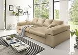 BIG Sofa- Creme - Modell Hercules
