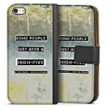 DeinDesign Apple iPhone 5c Étui Étui Folio Étui magnétique Some People Need