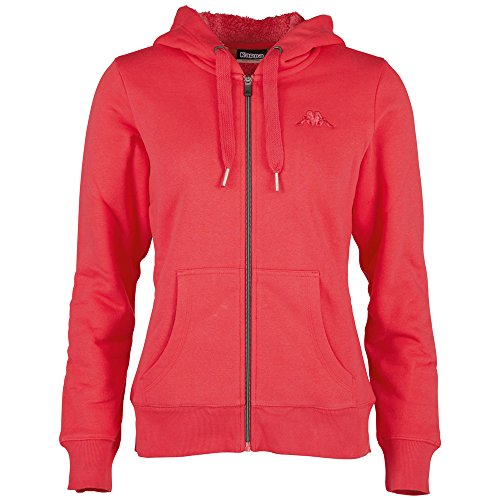 Kappa Damen Jacke Veruschka Hooded Sweatjacket, 569 Teaberry, S, 303443