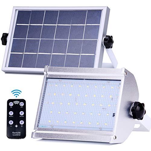 Sicherheits LED Solarleuchten Solarlampen Solarlicht im Freien mit Radar-Bewegungssensor 800Lumen 5000mAh IP66 wasserdichte Solarwandleuchten für Garten (6) 6 Radar