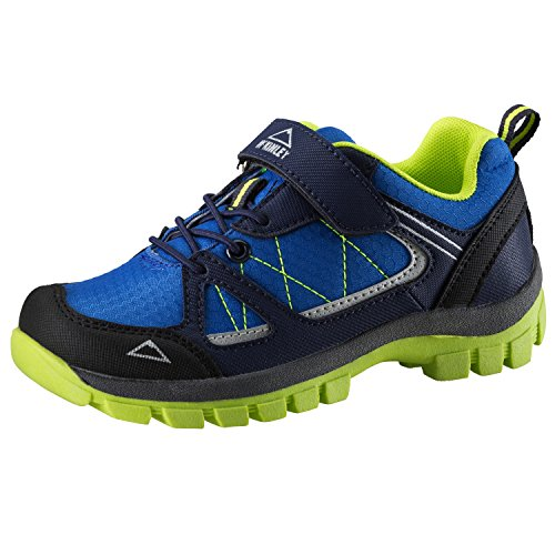 McKinley Chaussures de Multi Maine AQB Jr Blue Royal/Green lime