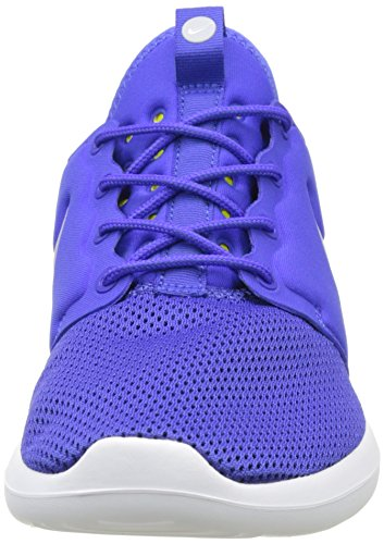 Nike Roshe Two, Chaussures de Running Homme Bleu (Paramount Blue/Wolf Grey/Electrolime/White)