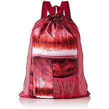 Speedo Deluxe Ventilator Mesh Bag Mochila, Unisex Adulto, Rosa Jaula, One Size