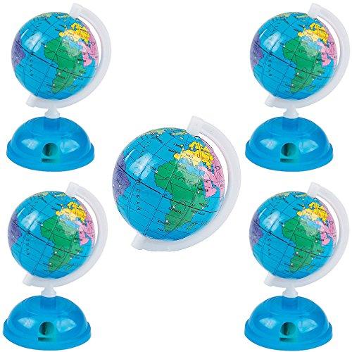 German Trendseller 4 x Anspitzer Globus ┃ Erde ┃ Spitzer Schule