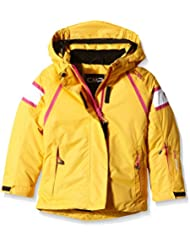 CMP 3W10255- Chaqueta de esquí para niñas, color naranja albaricoque, talla 15 años (164 cm)
