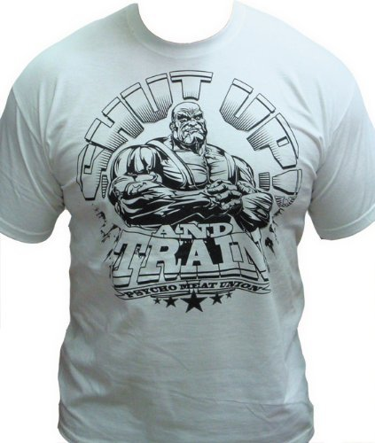 argent-dos-psycho-meat-union-shut-up-and-train-white-xl-blanc