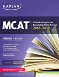MCAT Critical Analysis and Reasoning Skills Review 2018-2019: Online + Book (Kaplan Test Prep)