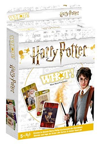 Winning Moves 11729 Warner Bros WHOT-Harry Potter: Neue Mau-Variante für 2-6 ab 5 Jahren, Spiele mit den SchülerInnen aus Hogwarts, Kartenspiel