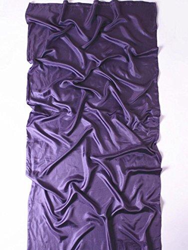 Nola Sang Seide Schlafsack Liner Hautfreundliche Umschlag Innenschlafsack Ultralight Bed Sheet Travel Hotel , purple