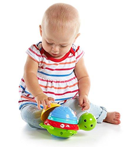 Mattel Fisher-Price DHW16 - Badespaß Schildkröte (Fisher Price Baby Spielzeug)