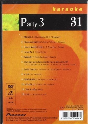 Karaoke 31 - Party 3 [DVD]