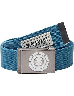 Element Hombre Beyond Belt Cinturón, Acero Azul, Talla única