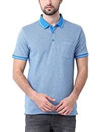 Classic Polo Blue Slim-Fit Casual T-Shirt