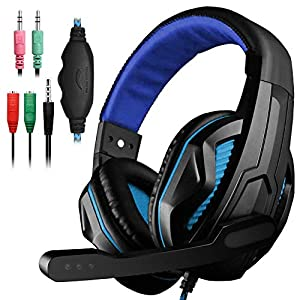 YuCool-Headset-Group 1*Black and Blue