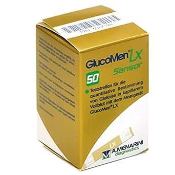 Glucomen LX 63Test Sensore steifen originale (Confezione da 50pezzi)