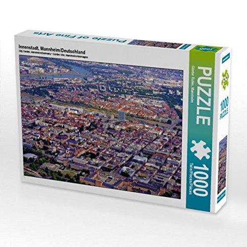 Innenstadt, Mannheim/Deutschland 1000 Teile Puzzle quer (CALVENDO Orte)