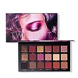 OYOTRIC Oyalaiy 18 Couleurs Ombre À Paupières Palette Matte Glitter Pigment Texture Eye Shadow Beauty Maquillage B
