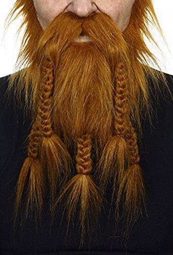 Rotoranger Wikinger- oder Zwergen Bart