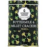 Monsoon Harvest Buttermilk and Millet Crisp Baked Crackers, Fennel, 100g