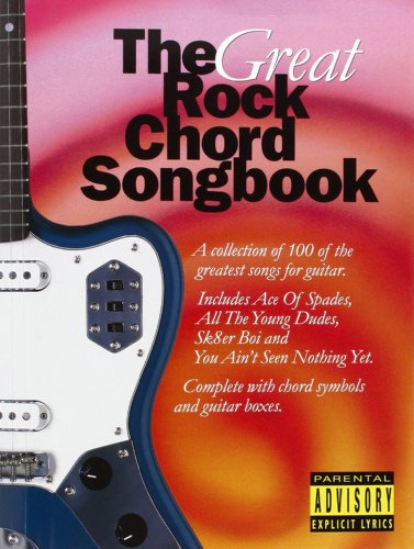 The Great Rock Chord Songbook (Big Guitar Chord Songbook)