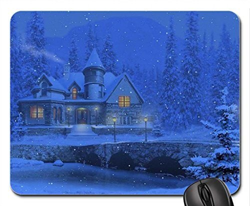 Morning Mist Mouse Pad, Mousepad (Laghi Mouse Pad) #010