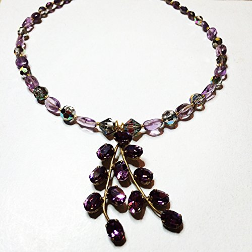 unique-re-crafted-upcycled-vintage-purple-paste-rhinestone-set-amethyst-necklace