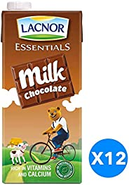 Lacnor Chocolate Milk - 1 Litre(Pack of 12)