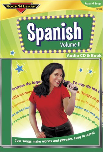 Spanish Vol. II [With Book(s)]: 2 (Rock 'N Learn Series)