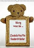 Zaubärhafte Seelentröster (Wandkalender 2018 DIN A4 hoch): Bärig was los .... Teddybären ganz privat (Monatskalender, 14 Seiten ) (CALVENDO Spass) ... 2017] Lindert-Rottke + Martina Berg, Antje