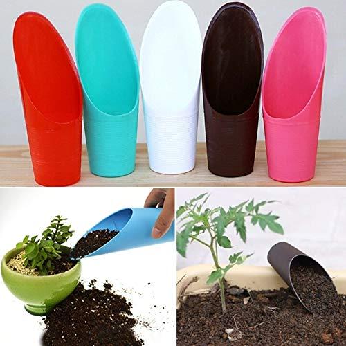 Danigrefinb Kunststoffeimer Schaufel Erde Spaten Garten Topfpflanze Sukkulenten Pflanzwerkzeug Gartenbedarf