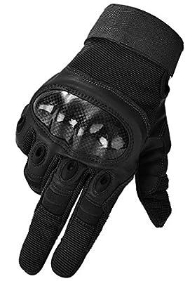 Coofit Herren Taktisch Handschuhe Vollfinger Outdoor Radsport Motorrad Gloves