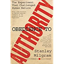 Obedience to Authority: An Experimental View (Harper Perennial Modern Thought)