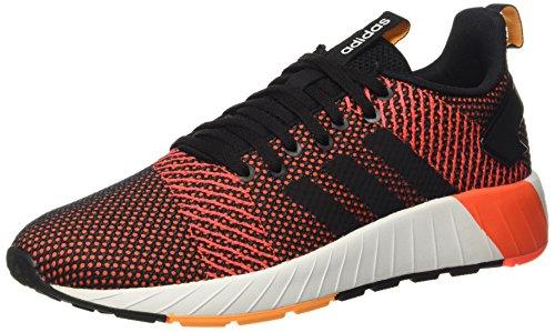 adidas Herren Questar BYD Sneaker, Mehrfarbig (Core Black/Footwear White/Solar Red 0), 44 2/3 - Schuhe Klassiker Adidas