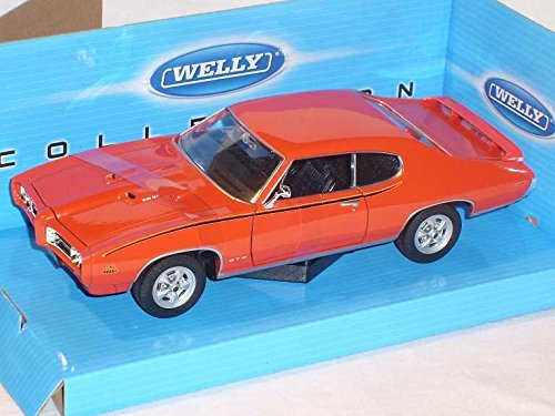pontiac-gto-judge-coupe-orange-1969-1-24-welly-modell-auto