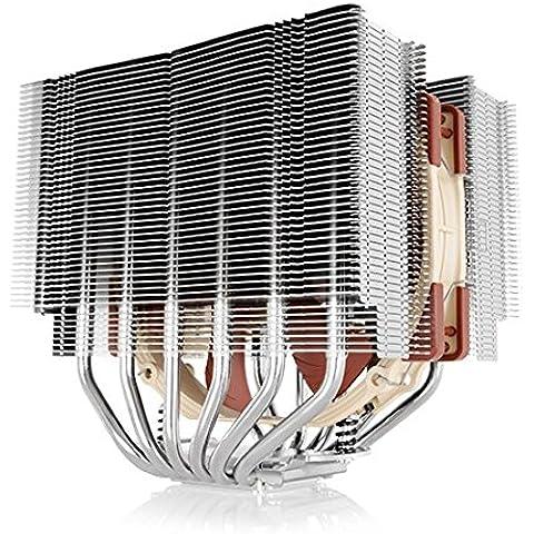 Noctua NH-D15S - Ventilador de PC (Procesador, Enfriador, Socket LGA 1151, Socket AM2, Socket AM3, Socket AM3, Socket AM3+, Socket FM1, Socket FM2, Socket FM2, Core i3, Core i5, Core i7, Cobre, Metálico, Aluminio,
