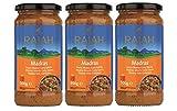 [ 3x 500g ] RAJAH [ Madras] Scharfe Curry Sauce mit Tomaten, Zwiebeln und Chili