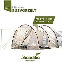 skandika Camper Tramp Bus-vorzelt 16034 Tienda de campaña, Unisex, Beige, 370 x 320 cm