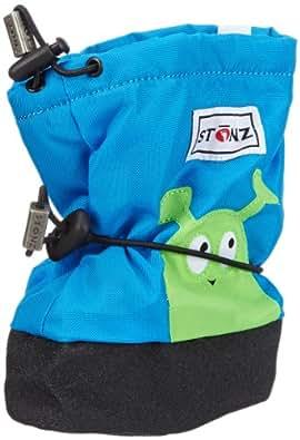 Stonz Boys Alien - Blue Snow Boots Blue Blau (Blue) Size: S