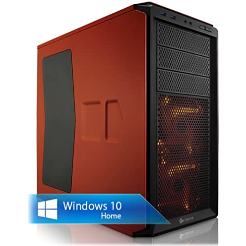 Ankermann-PC WildRabbit GAMER X99, Intel Core i7-5820K 6x 3.30GHz, Zotac GeForce GTX 1060 6GB, RAM DDR4 8GB PC2133, 120GB Kingston SSD, 1000 GB Disco Duro, Microsoft Windows 10 Home 64Bit (Spain), EAN