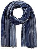 s.Oliver Herren Schal 97.802.91.6189, Mehrfarbig (Blue Multicolored Stripes 54s1), One Size (Herstellergröße: 1)