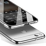Msvii Huawei P10 Lite 5,2 Zoll Hülle, 3-in-1 Design PC Hülle Schutzhülle Case und Displayschutzfolie für Huawei P10 Lite 5,2 Zoll (Nicht mit Huawei P10 Kompatibel) - Silber JY50021