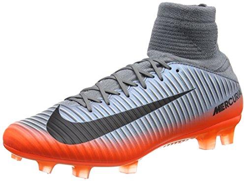 00.001-finish (Nike Unisex-Erwachsene Mercurial Veloce III DF CR7 FG 852518 00 Sneaker Mehrfarbig (Indigo 001) 44.5 EU)