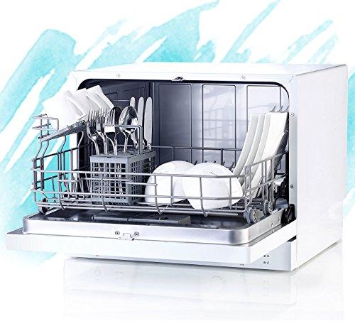 Sichler Geschirrspüler: Tischgeschirrspüler TGS-6 für 6 Maßgedecke (Spülmaschine)