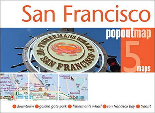 San Francisco (Popout Maps)