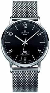 Junghans Men's Quartz Watch MILANO, FUNK 030/4044.44 with Metal Strap