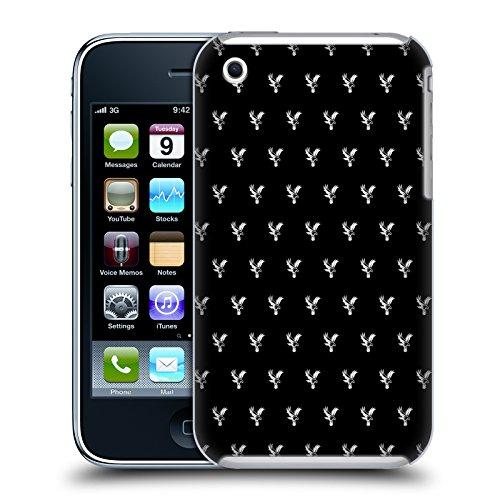 Iphone 3g Adler (Offizielle Crystal Palace FC Schwarzer Adler 2017/18 Kamm Und Modelle Ruckseite Hülle für Apple iPhone 3G / iPhone 3GS)