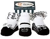 Baby Mädchen Socken die wie Schuhe aussehen tanz 3 Paar-Weiche Baumwolle-Neuborenes Geschenk